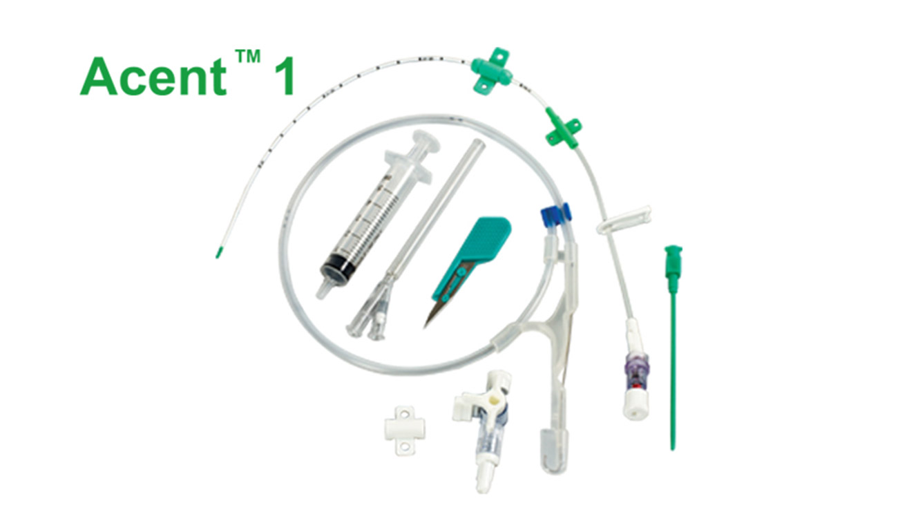 Single Lumen Central Venous Catheter (Seldinger technique)