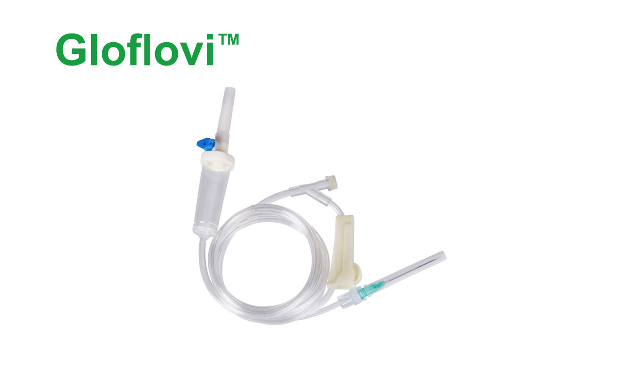 I.V. Infusion set with Airvent and Y-Site